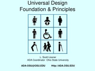 Universal Design Foundation & Principles