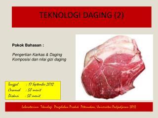 Teknologi Daging  (2)