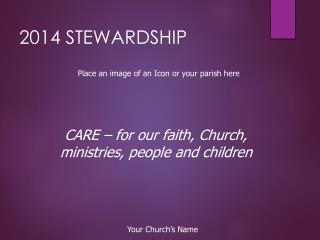 2014 STEWARDSHIP