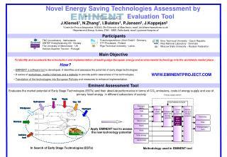 Novel Energy Saving Technologies Assessment by