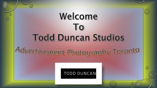 Advertisement Photography Toronto