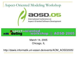 Aspect-Oriented Modeling Workshop
