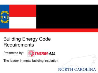 Building Energy Code Requirements
