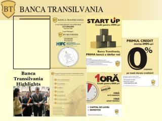 Banca Transilvania Highlights