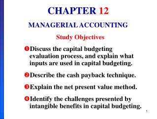 Discuss the capital budgeting evaluation process, and explain what inputs are used in capital budgeting. Describe the ca