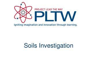 Soils Investigation