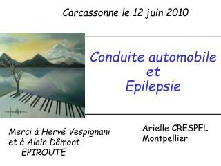 Conduite automobile  et  Epilepsie