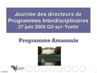 Programme Amazonie