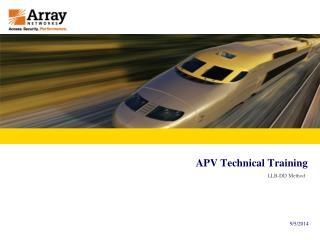 APV Technical Training