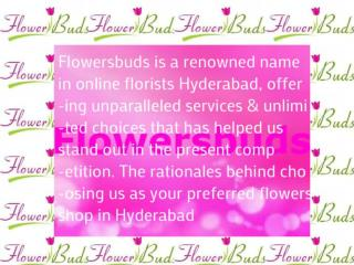 Online Florists Hyderabad and Secunderabad