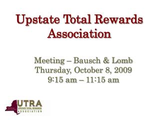 Upstate Total Rewards Association