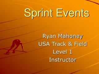 Sprint Events