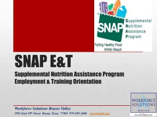 Keeping Recipients Connected to SNAP Benefits