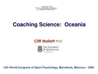 Coaching Science:  Oceania