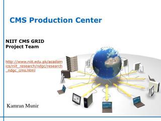 CMS Production Center