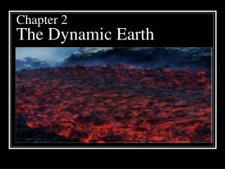 Chapter 2 The Dynamic Earth