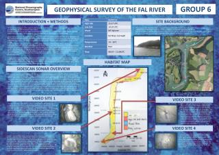 GEOPHYSICAL SURVEY OF THE FAL RIVER