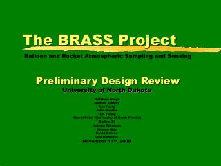 The BRASS Project