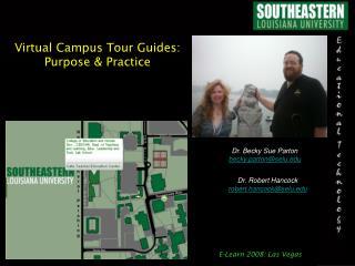 Virtual Campus Tour Guides: Purpose & Practice
