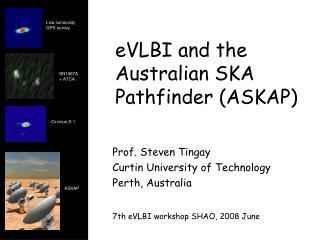 eVLBI and the Australian SKA Pathfinder (ASKAP)