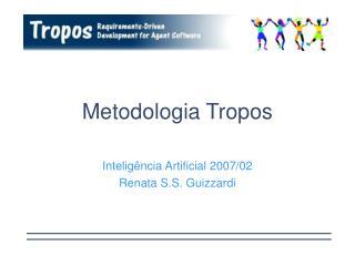 Metodologia Tropos