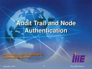 Audit Trail and Node Authentication