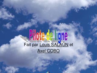 Fait par  Louis SALAÜN  et Axel COBO
