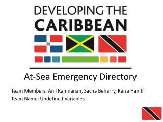 At-Sea Emergency Directory