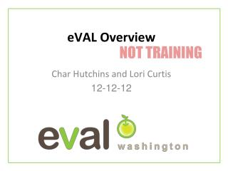 eVAL Overview