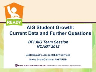 AIG Student Growth: Current Data and Further Questions