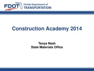 Construction Academy 2014