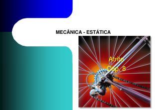 MECÂNICA - ESTÁTICA