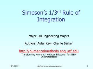 Simpson s 1