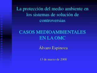Álvaro Espinoza 13 de marzo de 2008