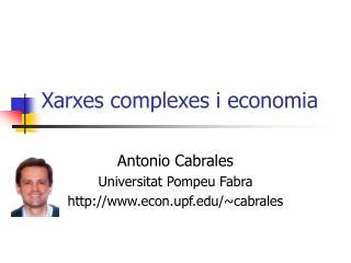 Xarxes complexes i economia