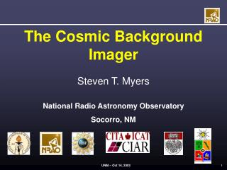 The Cosmic Background Imager