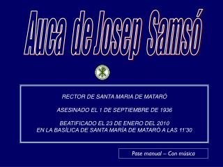 Auca  de Josep  Samsó