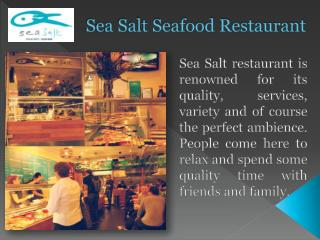 Sea Salt Seafood Restaurant in Melbourne