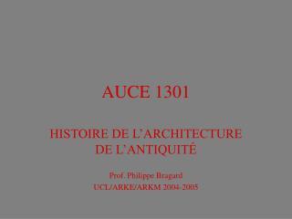 AUCE 1301