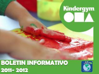 BOLETIN INFORMATIVO    2011- 2012