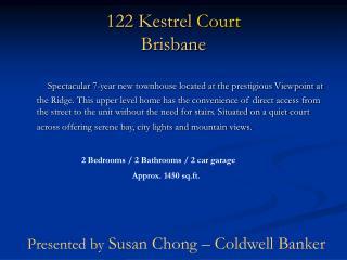 122 Kestrel  Court Brisbane
