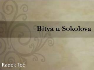Bitva u Sokolova