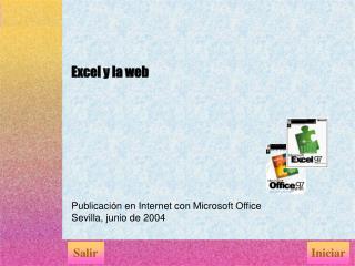 Excel y la web