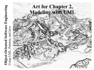 Art for Chapter 2, Modeling with UML