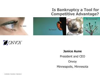 Is Bankruptcy a Tool for Competitive Advantage?