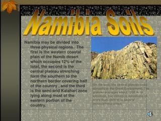 Namibia Soils