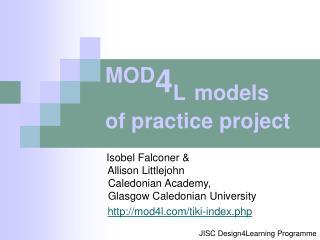 Isobel Falconer &         Allison Littlejohn          Caledonian Academy,