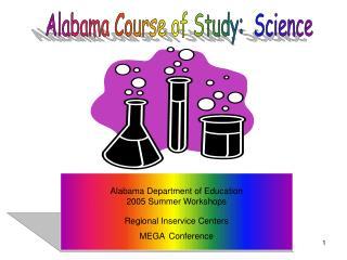 Alabama Course of Study:  Science