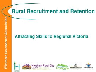 Rural Recruitment and Retention