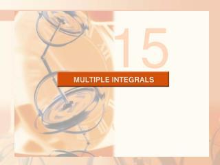 MULTIPLE INTEGRALS